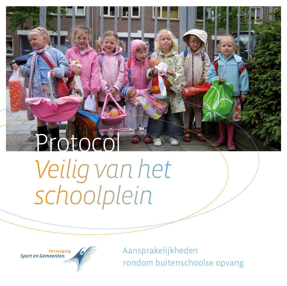 Veilig van het schoolplein