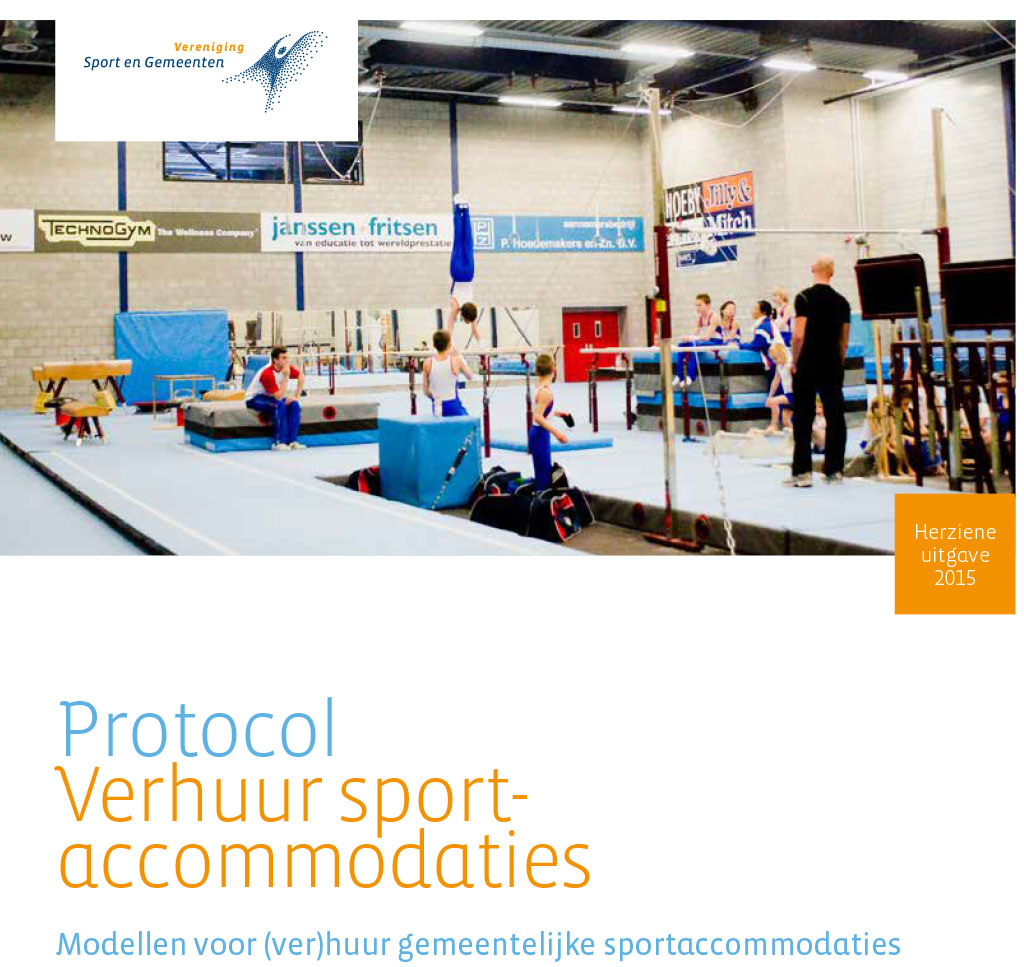 Protocol 'Verhuur sportaccommodaties 2015'