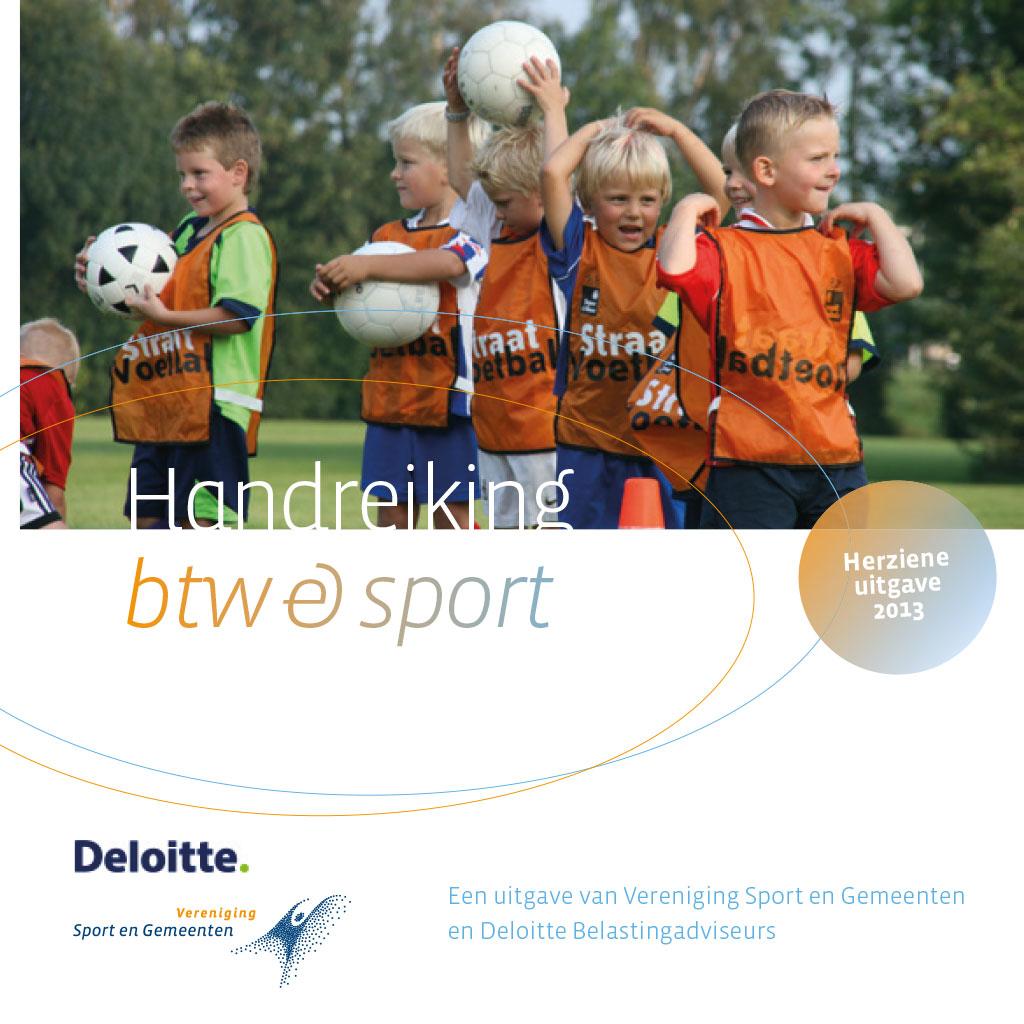 Handreiking BTW & sport (herziene editie 2013)