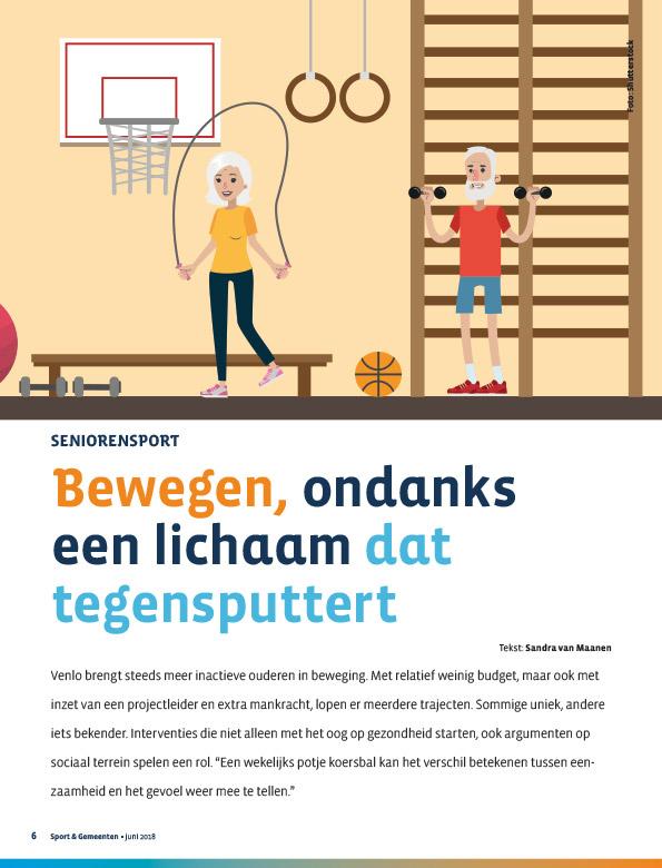 Magazine Sport en Gemeenten
